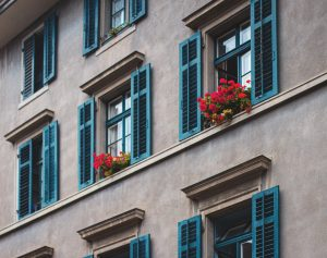 shutters in Andelucia